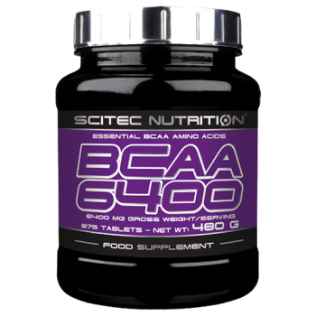 Scitec Nutrition - BCAA 6400, 375 Tabletten