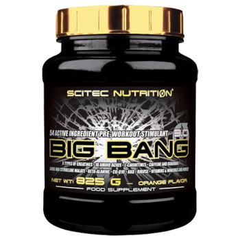 Scitec Nutrition - Big Bang 3.0, 825g Dose