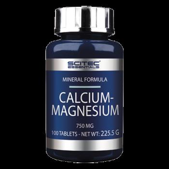 Scitec Nutrition - Calcium Magnesium, 100 Tabletten
