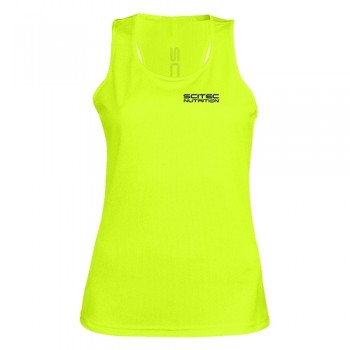 Scitec Nutrition - Dry Tech Tank Top - Frauen Yellow