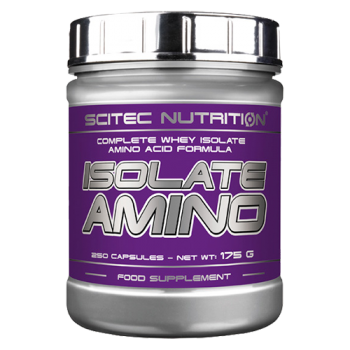 Scitec Nutrition - Isolate Amino, 250 Kapseln