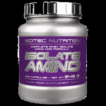 Scitec Nutrition - Isolate Amino, 500 Kapseln
