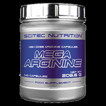 Scitec Nutrition - Mega Arginine, 140 Kapseln