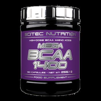 Scitec Nutrition - Mega BCAA 1400, 180 Kapseln