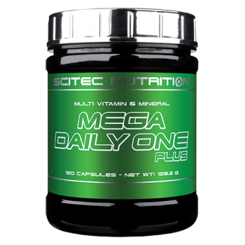 Scitec Nutrition - Mega Daily One Plus, 120 Kapseln
