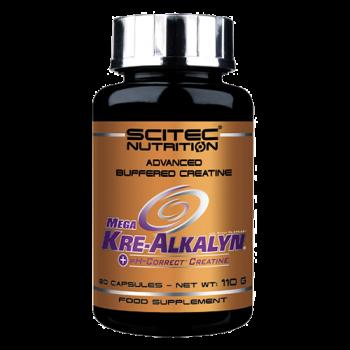 Scitec Nutrition - Mega Kre-Alkalyn, 80 Kapseln