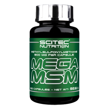 Scitec Nutrition - Mega MSM, 100 Kapseln