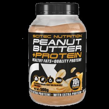 Scitec Nutrition - Peanut Butter + Protein, 500g Dose