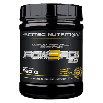 Scitec Nutrition - POW3RD! 2.0, 350g Dose