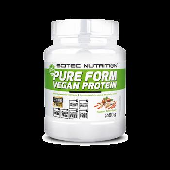 Scitec Nutrition - Pure Form Vegan Protein, 450g Dose