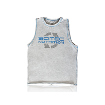 Scitec Nutrition - T-Shirt - Sleeveless Grey