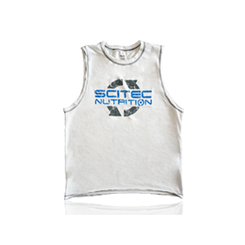 Scitec Nutrition - T-Shirt - Sleeveless White