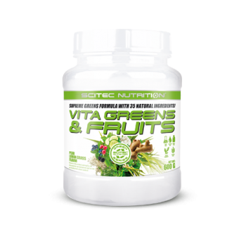 Scitec Nutrition - Vita Greens & Fruits, 600g Dose