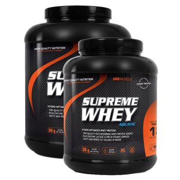 SRS - Supreme Whey, 1900g Dose