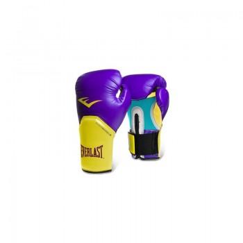 Everlast Boxhandschuhe Elite Pro Style Training - Lila/Gelb