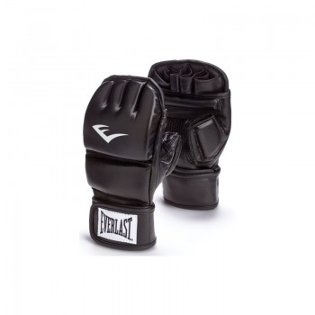 MMA Sparring Handschuhe Leder schwarz DAX Grip Gloves