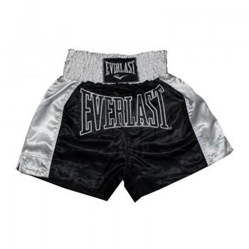 Everlast Muay Thai Short Traditionell - Schwarz/Weiß