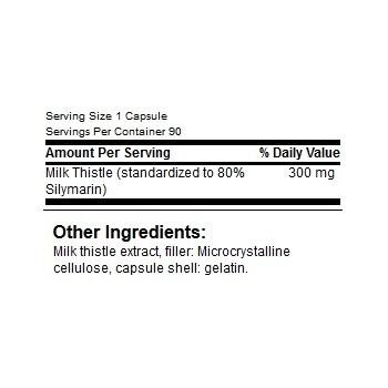 GN Milk Thistle 300 - 90 caps