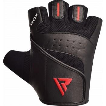 RDX S2 Schwarz Leder Gym...