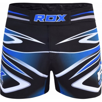 MMA SHORT R9 MULTI BLUE