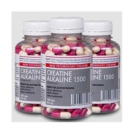 Megabol Creatine Alkaline - 120 Kaps.