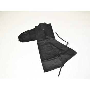 Ninja-Anzug schwarz 6-teilig