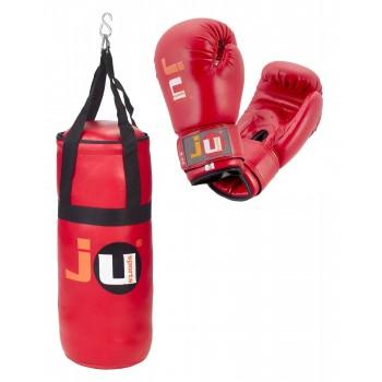 Kids Boxing Set rot