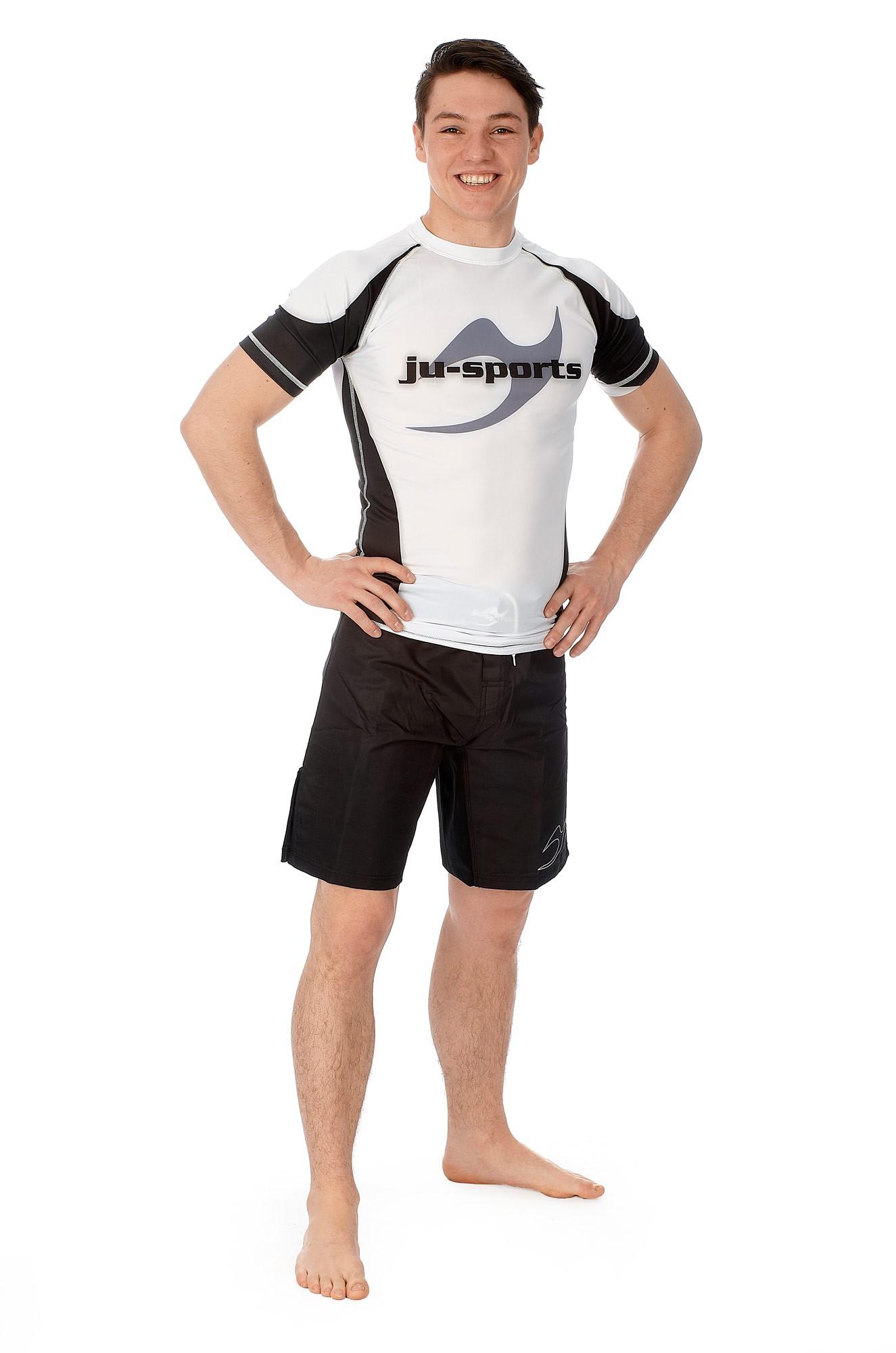 Ju-Sports Rashguard Germany langarm schwarz