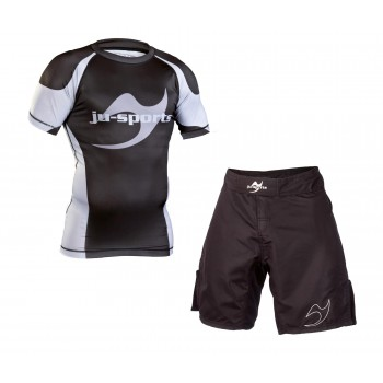 No-Gi Set: Rash Guard...