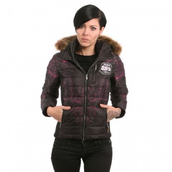 Ornamental Skull Winter Teddy Jacket
