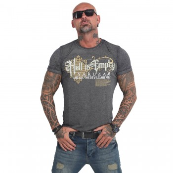 Hell Is Empty Burnout T-Shirt
