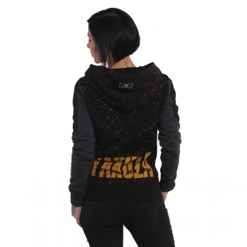 Dot Lily Two Face Hoodie