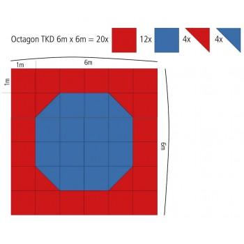 Mini-Oktagon Puzzle-Fläche...