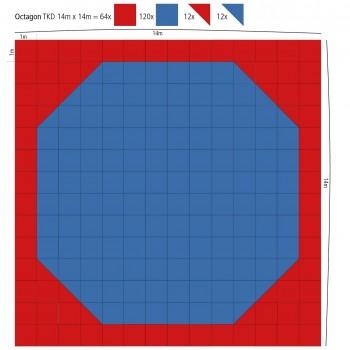 Maxi Oktagon Puzzle-Fläche...