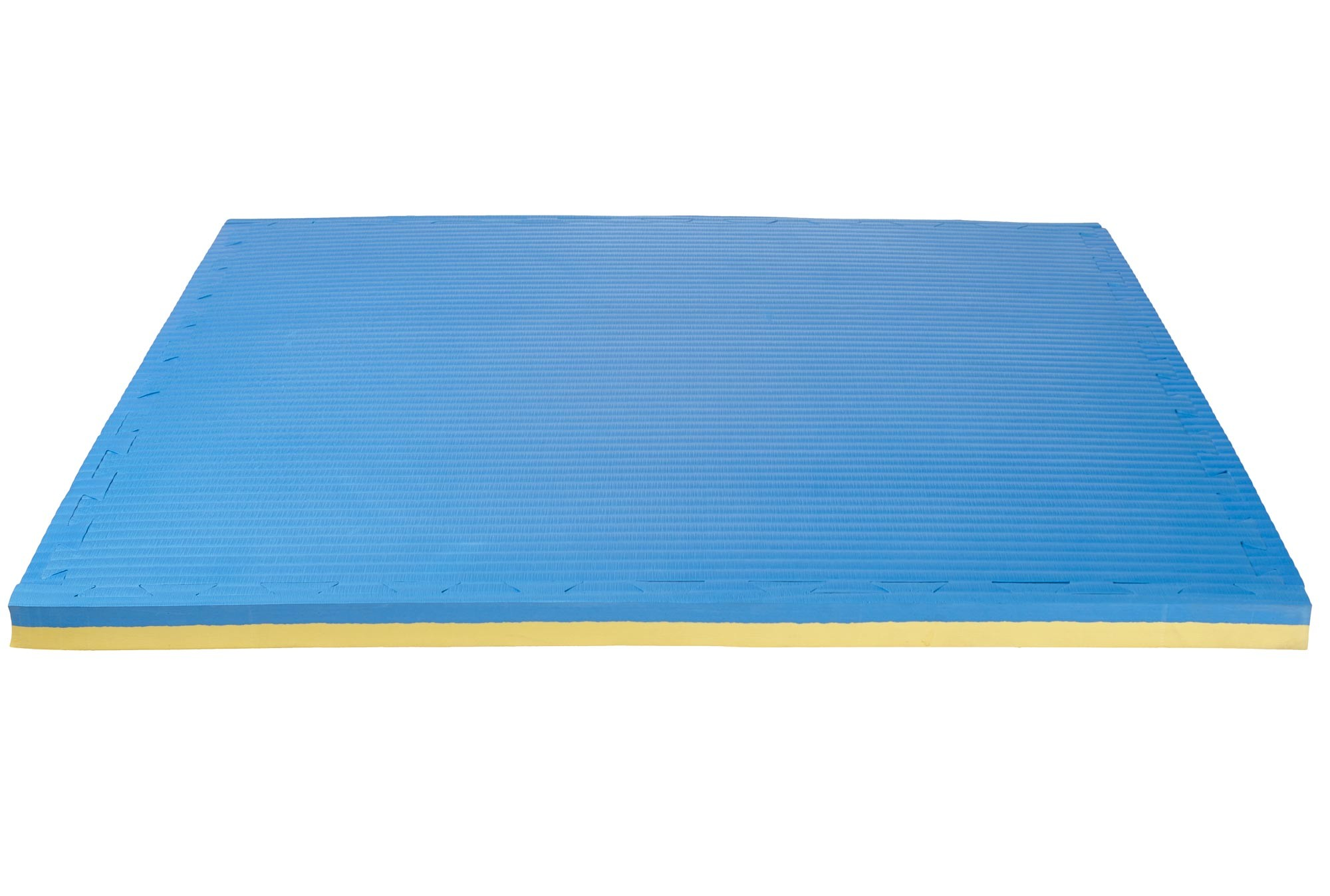 Ju-Sports Puzzlematte Tatami 4 cm rot//blau Wendematte