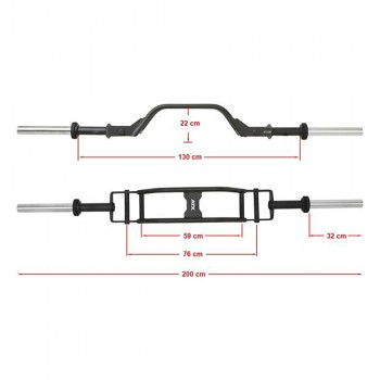 ATX® Camber Parallel Press Bar
