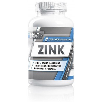 Frey Nutrition Zinc 25 mg,...