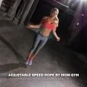 Iron Gym Adjustable Speed...