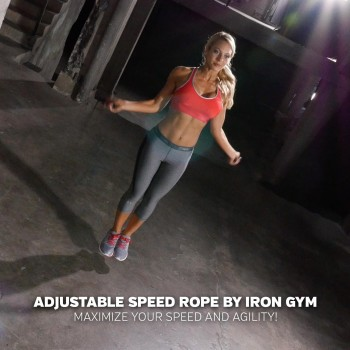 Iron Gym Adjustable Speed...