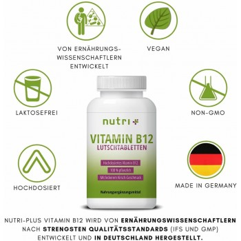 nutri+ vegane Vitamin B12...