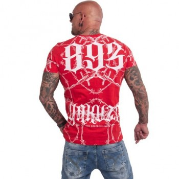 Barbwire T-Shirt, ribbon red