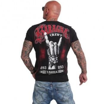 Babagna Crew T-Shirt, schwarz