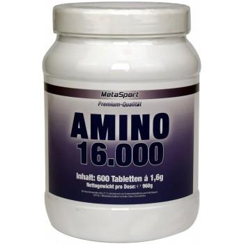 MetaSport Amino 1600, 600...