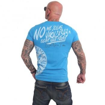 Jodas T-Shirt, malibu blue
