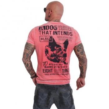 Yakuza Dog Burnout T-Shirt,...