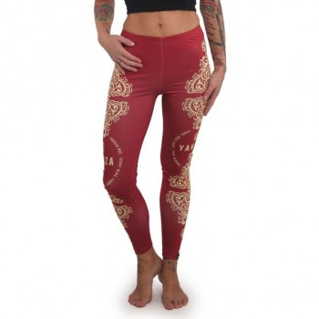 Ornamentic Leggings, chili...