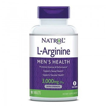 NATROL L-Arginine 3000mg 90...
