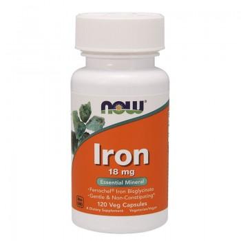 NOW Foods Iron 18mg Eisen -...