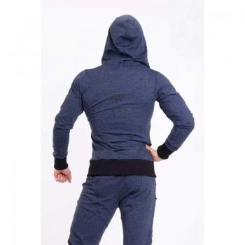 Jacket with Zip 109 Blue -...