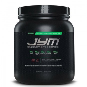 JYM Supplement Science Pre...